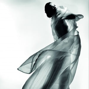 Amanda Harlech by Nick Knight, part of 200 Portraits for i-D mgazine, 2010