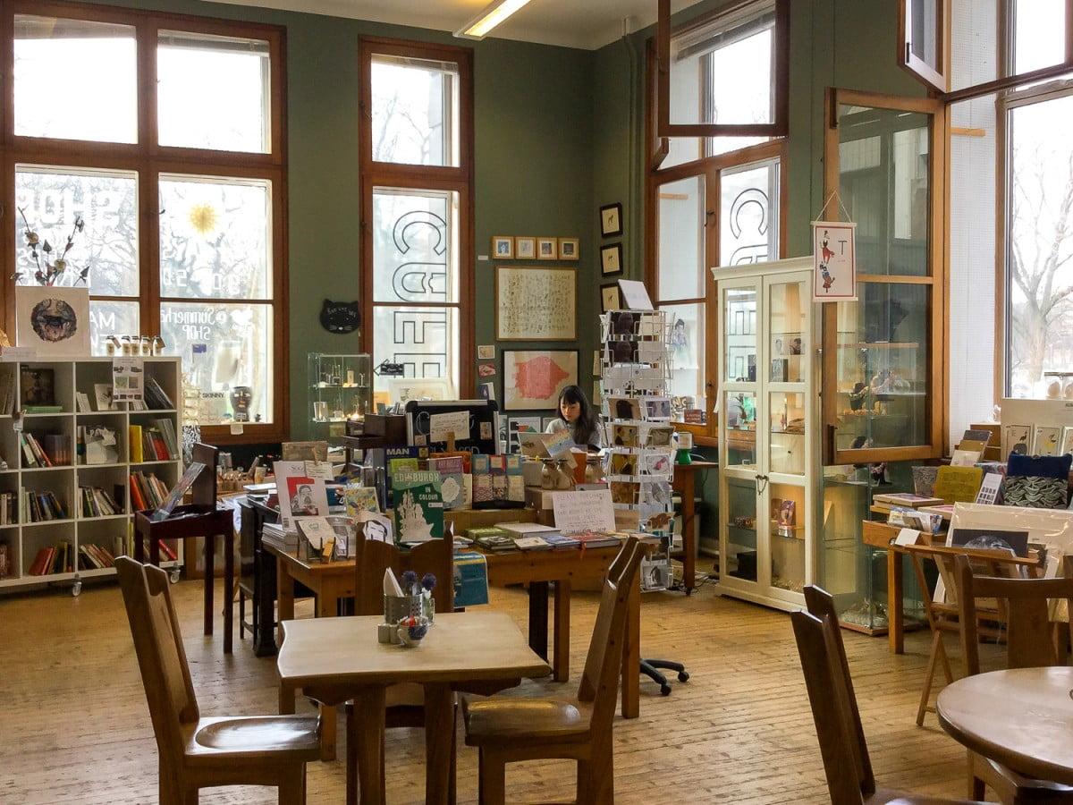 The Cafe Shop Summerhall Open Minds Open Doors