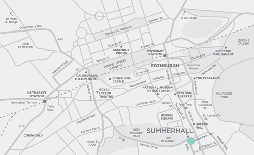 Summerhall-Map