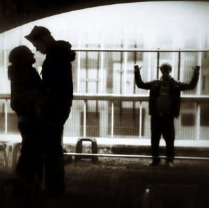 Romeo and Juliet B&W