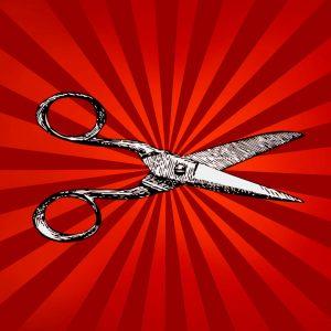 Theatre Uncut scissors summerhall