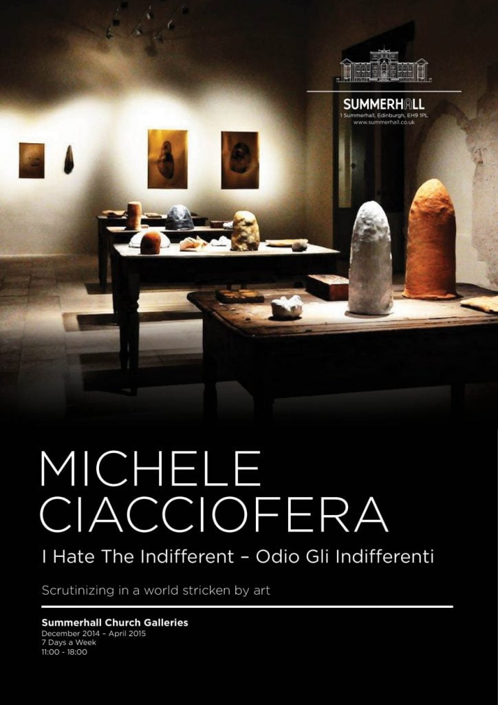 Michele Ciacioffera - I Hate The Indifferent