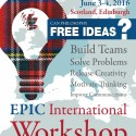 2016 EPIC International Workshop Summerhall