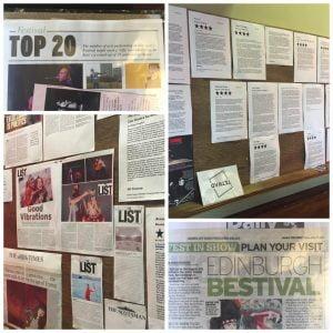Summerhall Press Coverage 2016