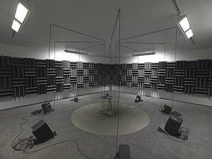 © Haroon Mirza; Courtesy Lisson Gallery. Photography: Ken Adlard