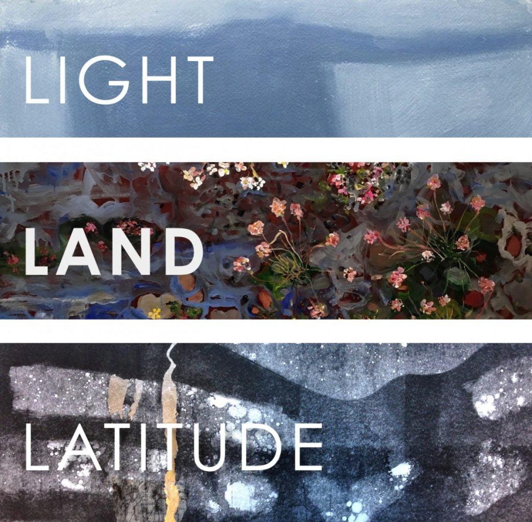 LIGHT LAND LATITUDE ICELANDTHREE PERSPECTIVES Summerhall - Iceland latitude